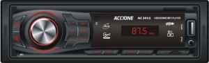 Imagem - Rádio Automotivo Bluetooth Accione AC3012 MP3 Player USB FM MICRO SD cód: 10767