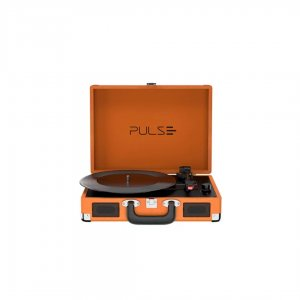 Imagem - Vitrola Toca discos Berry Suitcase Turntable SP364 cód: 10643
