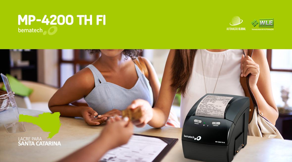 Impressora Fiscal Bematech MP-4200 TH FI