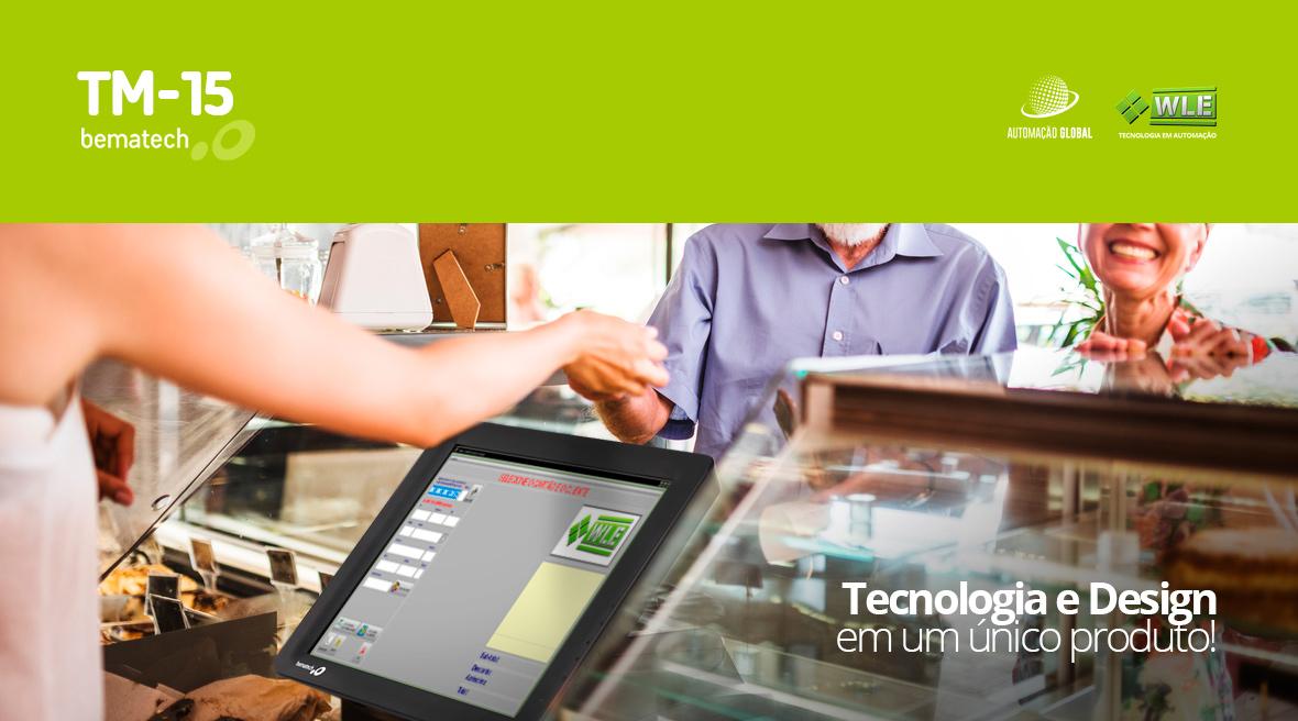 Monitor Touchscreen Bematech TM-15