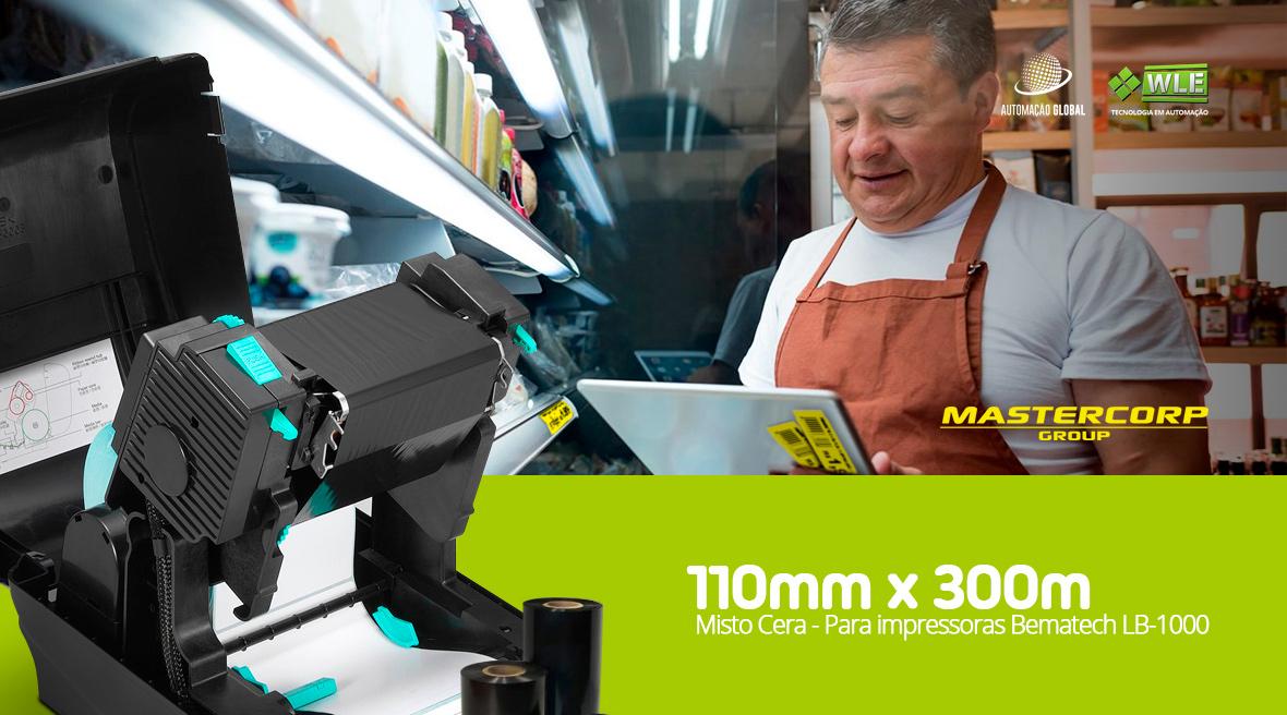 Ribbon Misto Cera Mastercorp Bematech LB-1000