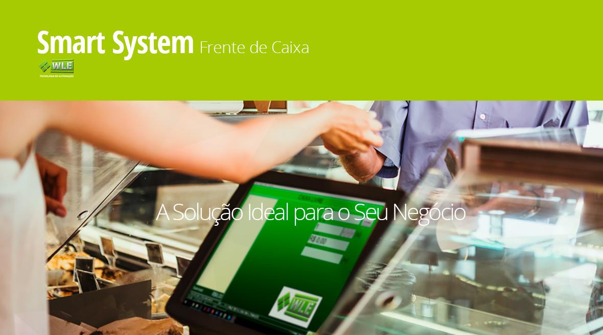 Sistema Gerencial Smart System Frente de Caixa NFC-e