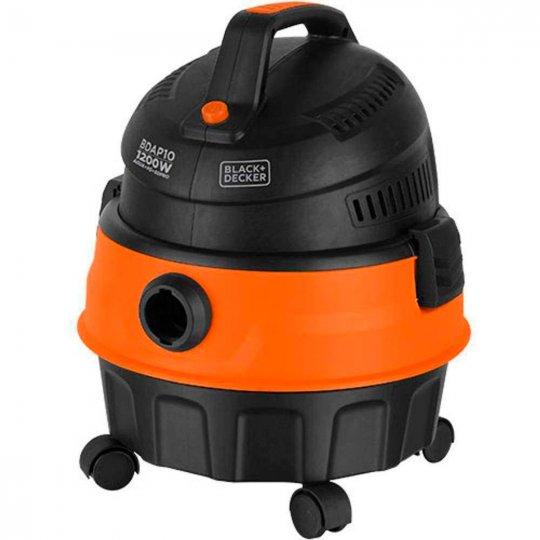 Aspirador de Pó e Água Black Decker Função Sopro BDAP10-B2 1200W 220V