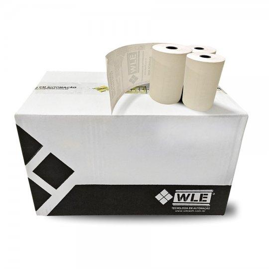 Bobina Salmão 80 X 40 Térmica - Impressão de Recibos, NFC-e ou Cupom Fiscal - Caixa com 30 unidades