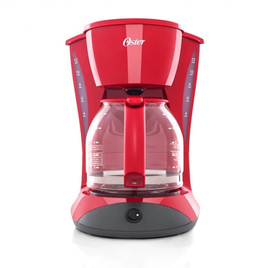 Cafeteira Oster Red Cuisine 1,8L W12R 900W 127V