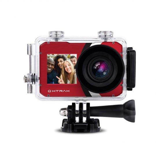Câmera Xtrax Selfie 4K Vermelha 801021