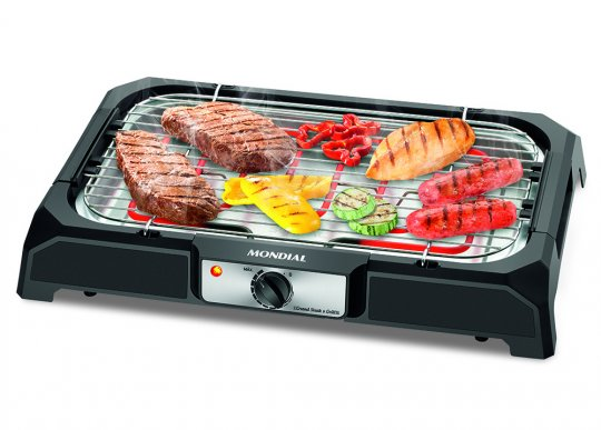 Churrasqueira Elétrica Mondial Grand Steak Grill CH-05 2000W 220V