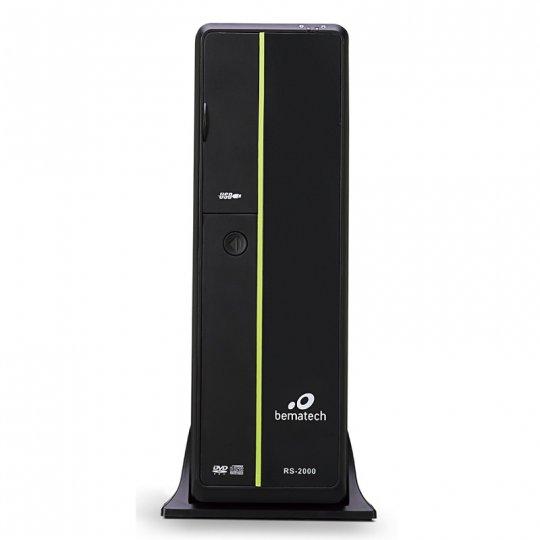 Computador Bematech RS-2100 - Intel® Celeron® G1840 2.8GHz (ou superior), 4GB, HD500G e 2 Seriais - Windows® POSReady 7