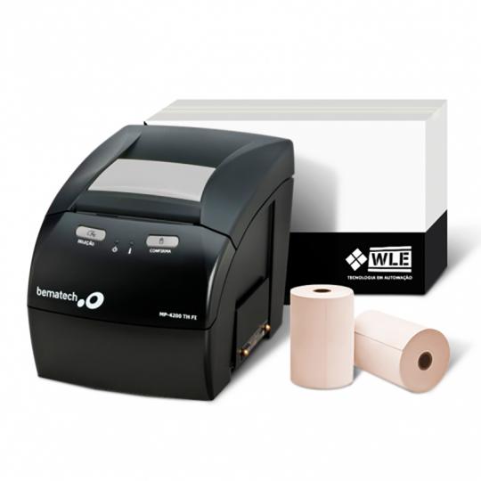 Kit Impressora Bematech MP-4200 TH FI + Bobina 80X40