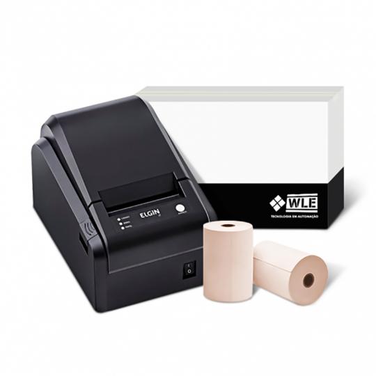 Kit Impressora Elgin I7 USB + Bobina 80X40