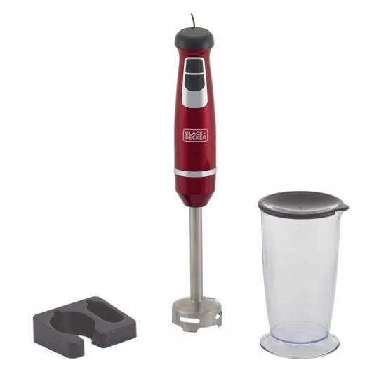 Mixer Vertical Vermelho Black Decker 2 Vel. M600V-B2 600W 220V
