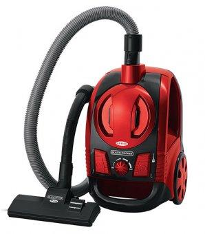 Aspirador de Pó Vermelho Metálico Ciclônico Black Decker AP4000-B2 1600W 220V