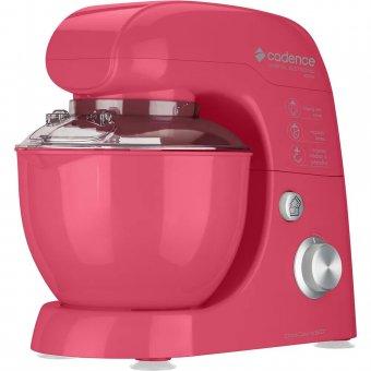Batedeira Planetária Cadence Colors Rosa BAT507 400W 127V