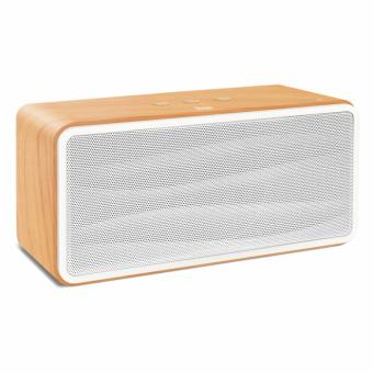 Caixa de Som Divoom Onbeat-500 Xtrax Branco com Detalhe em Madeira 801008