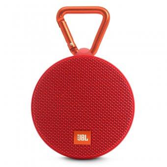Caixa de Som Bluetooth À Prova D'Água JBL CLIP2 Vermelha