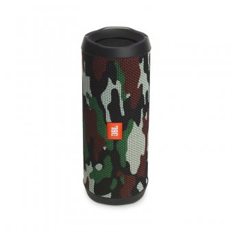 Caixa de Som Bluetooth À Prova D'Água JBL FLIP4 Camuflado