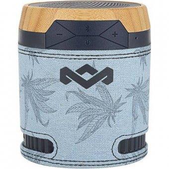 Caixa de Som Marley Sem Fio 801211 Chant Bluetooth Azul