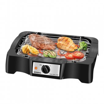 Churrasqueira Elétrica Mondial Pratic Steak & Grill CH-07 1200W 127V