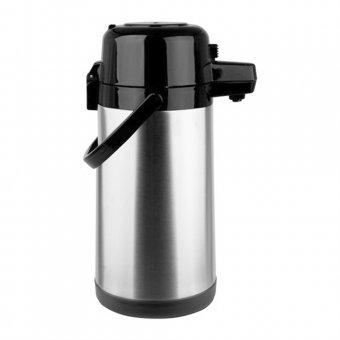 Garrafa Térmica TermoPro Aço Inox Pressão 1,9L TP6506