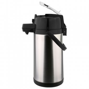 Garrafa Térmica TermoPro Aço Inox Pressão com Alavanca 2,5L TP6509
