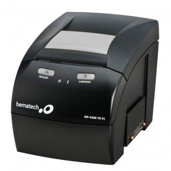 Imagem - Impressora de Cupom Fiscal Bematech MP-4200 TH FI - Convênio 09/09 + Lacre para SC
