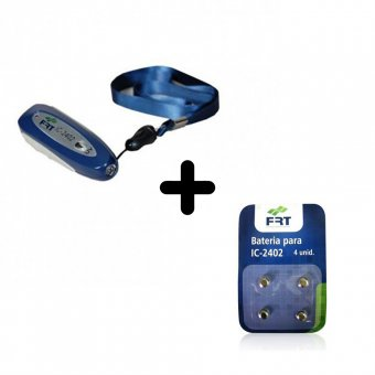 Kit Identificador de Notas e Cartões de Crédito Falsos FRT IC2402 + Bateria