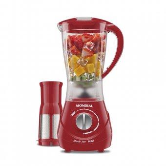 Liquidificador Mondial Maxis Filter Vermelho L-76 800W 220V