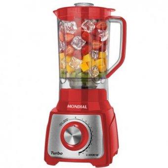 Liquidificador Mondial Vermelho L-1200-RI 1200W 110V