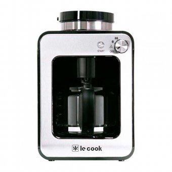 Cafeteira Maquina de Café Le Cook Automática Compacta com Moedor de Grãos e Ervas de Chá 127V