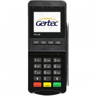 Pin Pad Gertec PPC930 Criptografado Display Colorido USB