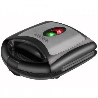 Sanduicheira Elétrica Black Decker 127V HG750-BR