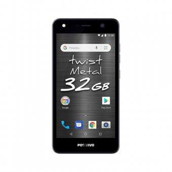 Smartphone Positivo Twist Metal S531 32GB Cinza