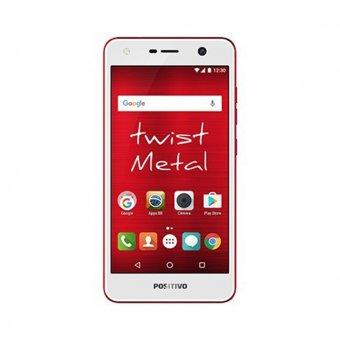 Smartphone Positivo Twist S530 16GB Vermelho
