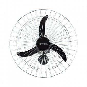 Ventilador de Parede Ventisol Cromado 60 cm Comercial 200W Bivolt