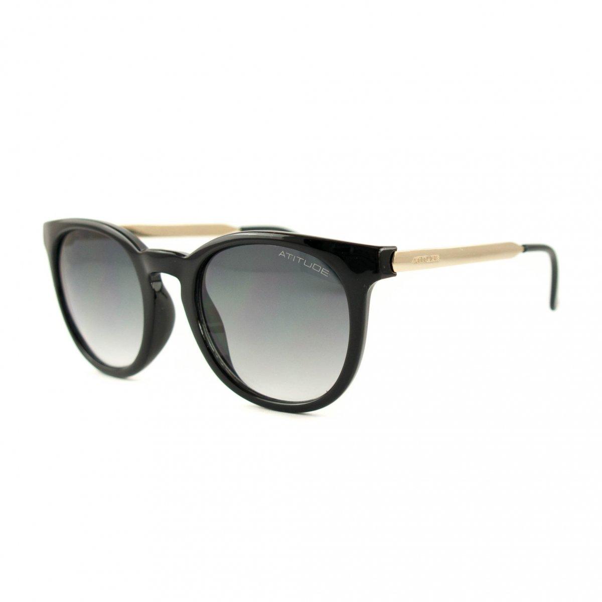 Óculos de Sol Atitude AT5220 Preto Feminino   Automação Global a9200954a5