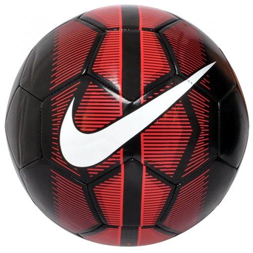 Bola Campo Nike Mercurial Fade SC3023-010 Preto/Vermelho