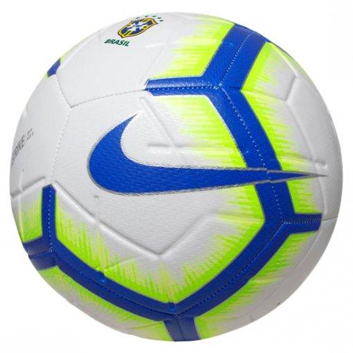 Bola Campo Nike Strike CBF SC3577-100 Branco/Azul/Verde