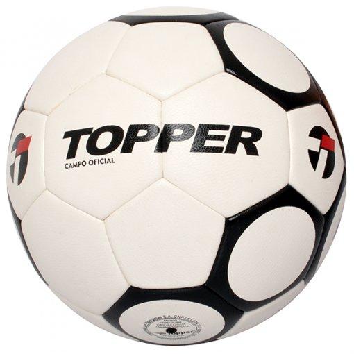 Bola Campo Topper 90S 4135718 Branco/Preto