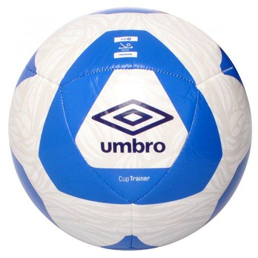 Bola Campo Umbro Cup Trainer 1P76031 Branco/Azul Marinho