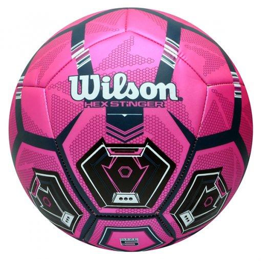 Bola Campo Wilson Hex Stinger WTE9900XB0501 Rosa/Preto