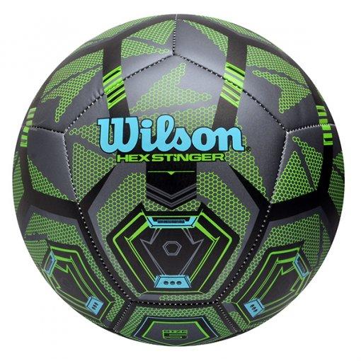 Bola Campo Wilson Hex Stinger WTE9900XB0502 Preto/Verde