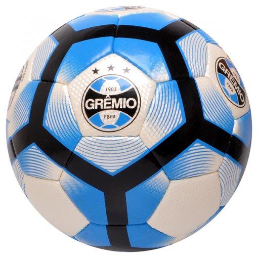 Bola Campo Winner Grêmio Oficial Cubic GR100 Branco/Azul/Preto