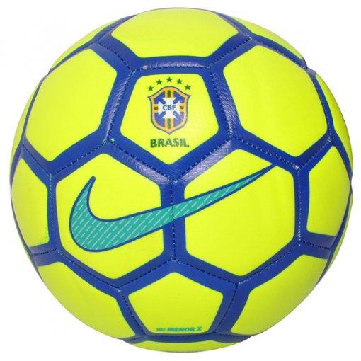 Bola Futsal Nike CBF Menor Sc3250-707 Amarelo/Azul Marinho