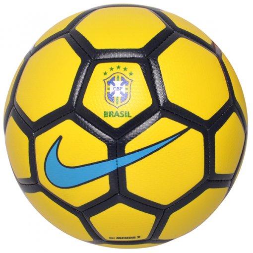 4939232477 Bola Futsal Nike Menor CBF SC3081-722 Amarelo Preto