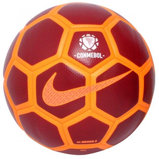 Bola Futsal Nike Menor Conmebol SC3251-674 Bordo/Laranja