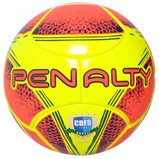 Bola Futsal Penalty Max 400 Term VIII 541485 Amarelo/Azul