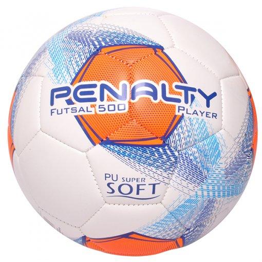 0a13fe1ad5 Bola Futsal Penalty Player VIII 511297 Branco