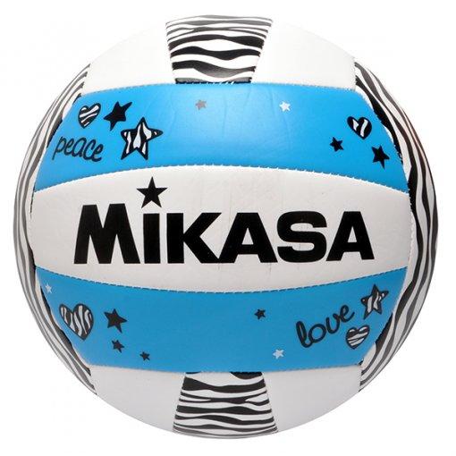 Bola Vôlei Mikasa VXS-ZB-B Branco/Azul/Preto