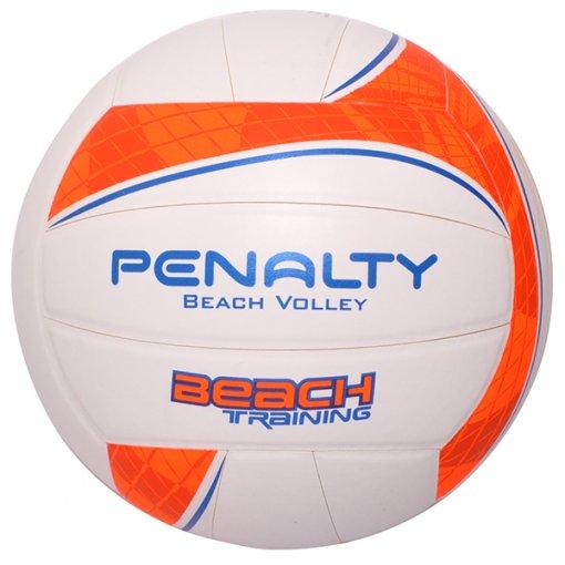 Bola Vôlei Penalty Training S/C 520160 Branco/Laranja/Azul