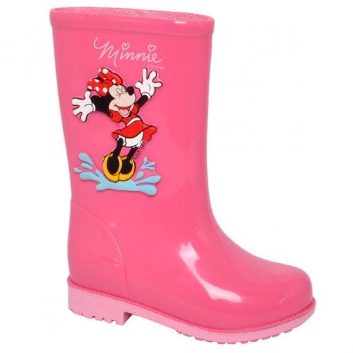 Bota Infantil Galocha Grendene Disney Fashion 21753 Rosa/Rosa